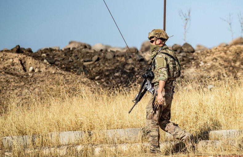 U.S. Soldier in Syria