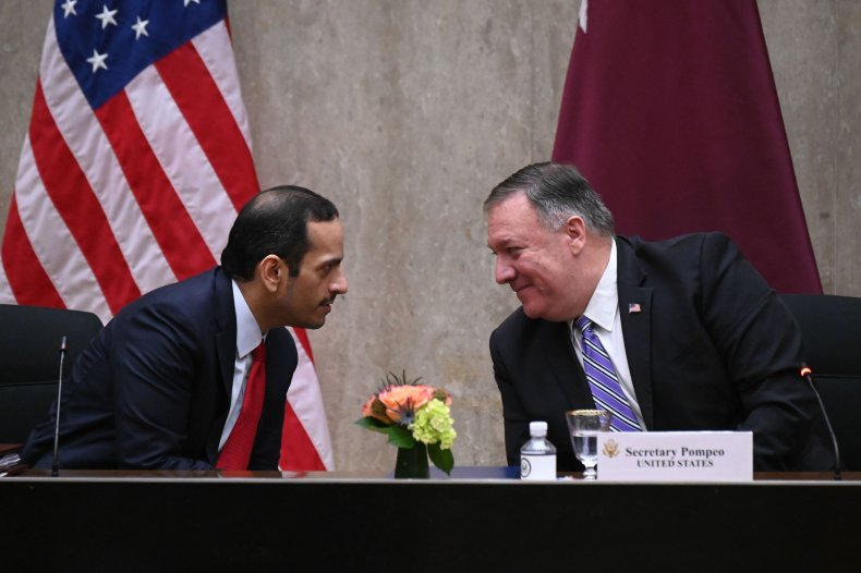 us, qatar, strategic, dialogue, pompeo, mohammed
