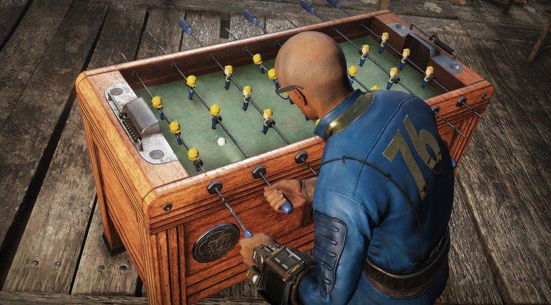 fallout 76 foosball table