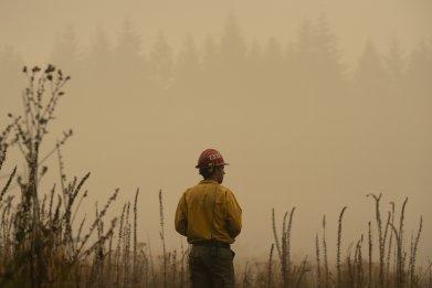 Oregon firefighter Riverside Fire September 2020