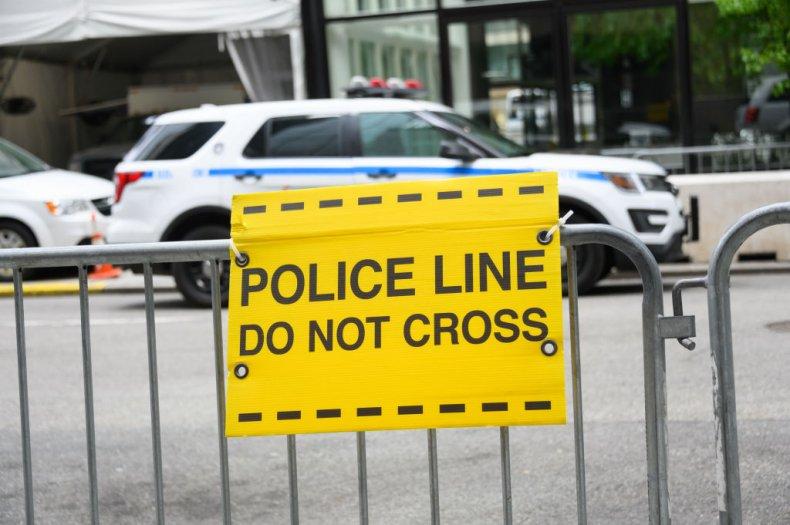 police line car