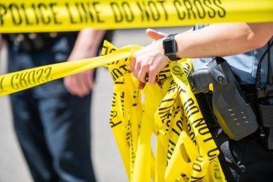 police tape taser