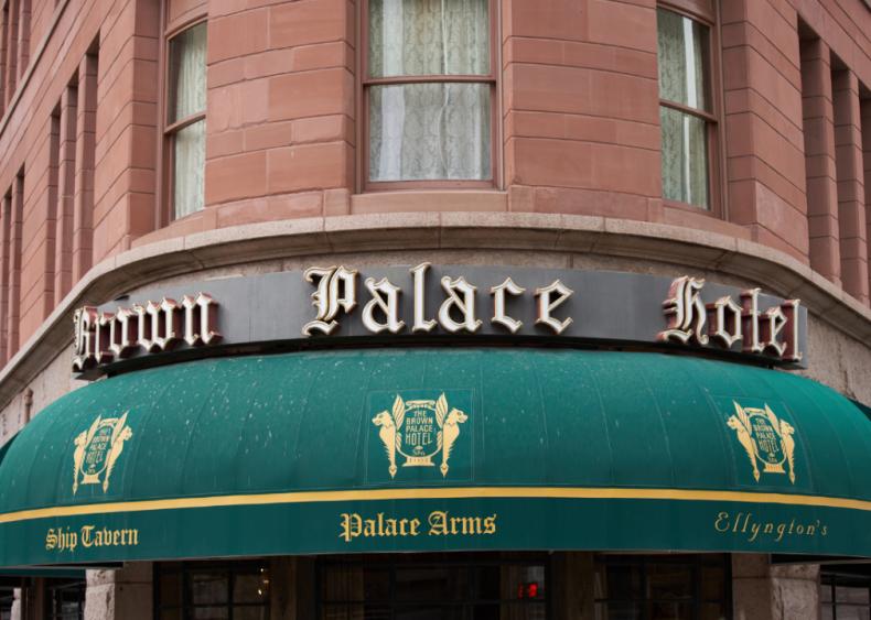 Colorado: The Brown Palace Hotel