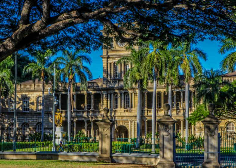 Hawaii: Iolani Palace