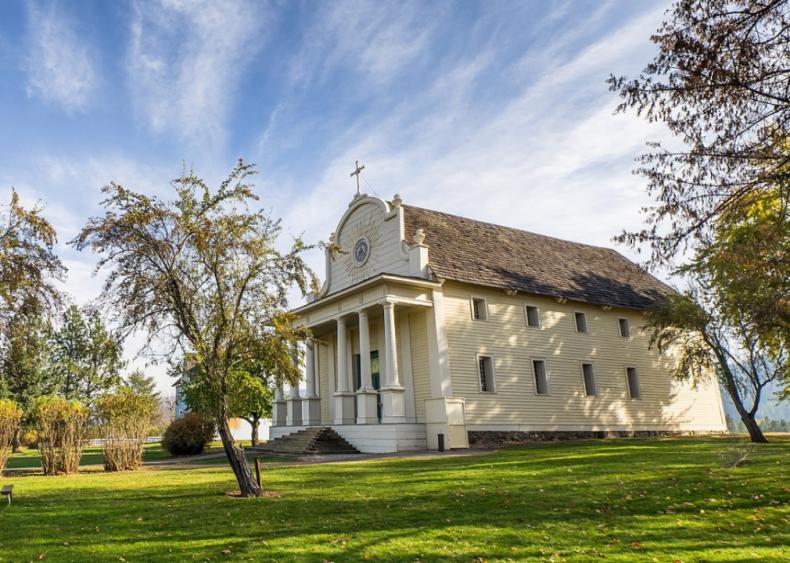 Idaho: Mission of the Sacred Heart