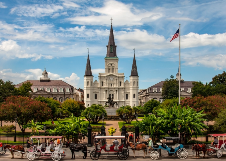 Louisiana: St. Louis Cathedral