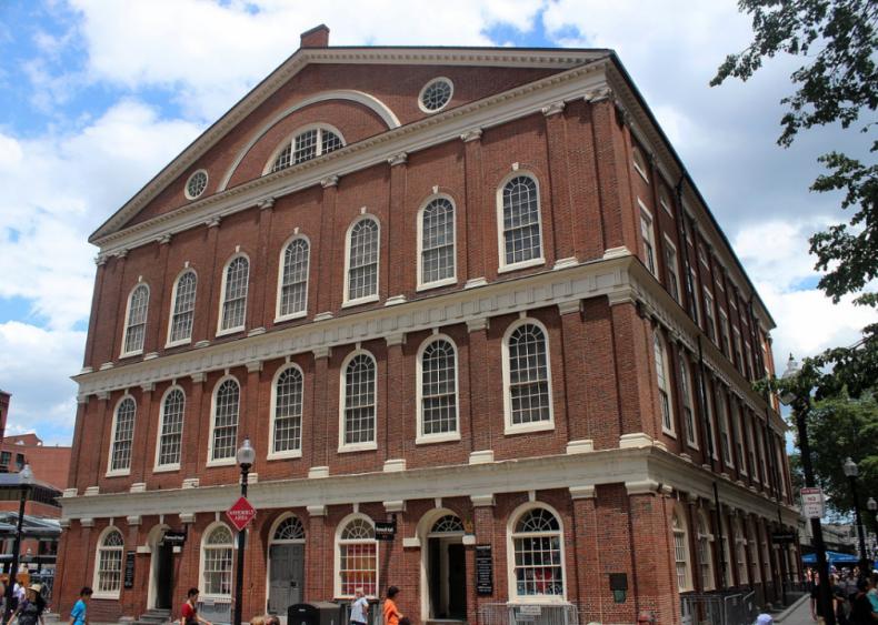 Massachusetts: Faneuil Hall