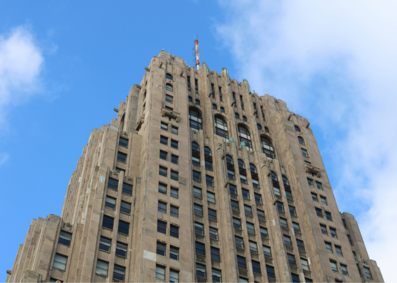 Michigan: Fisher Building