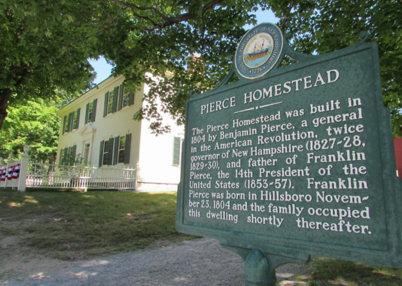 New Hampshire: Franklin Pierce Homestead