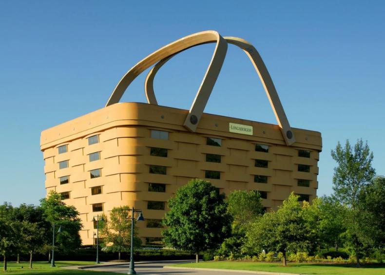 Ohio: Longaberger Basket Building