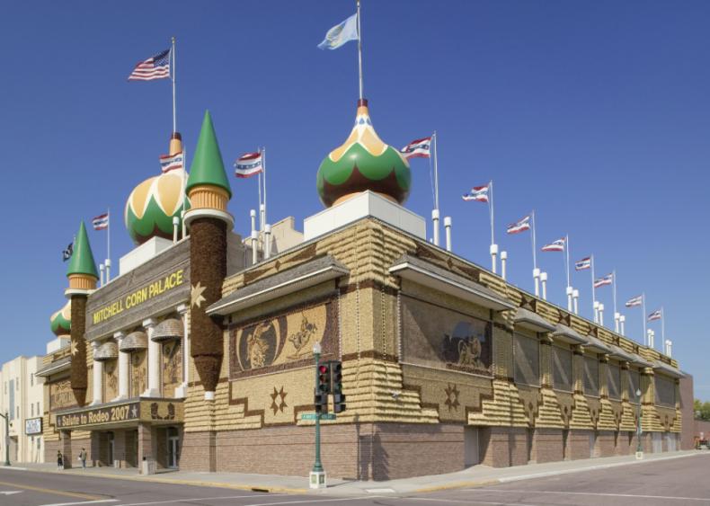 South Dakota: Mitchell Corn Palace