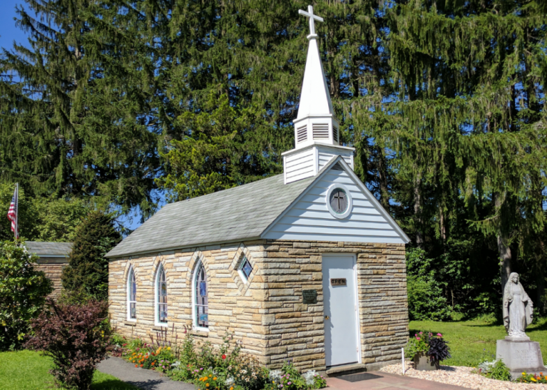 West Virginia: Our Lady of the Pines