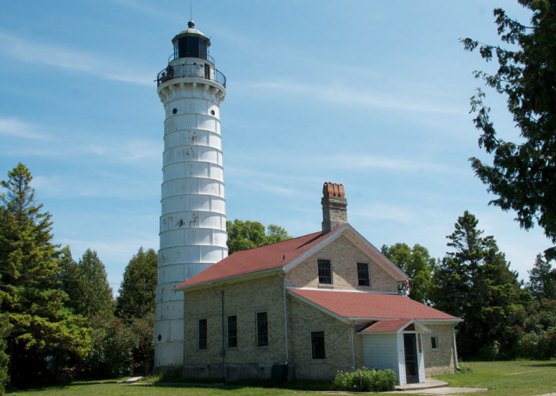 Wisconsin: Cana Island Lighthouse