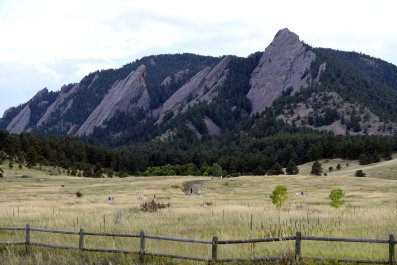 Boulder CO mountains