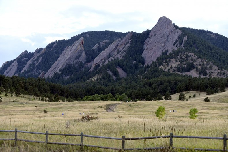Boulder CO mountains