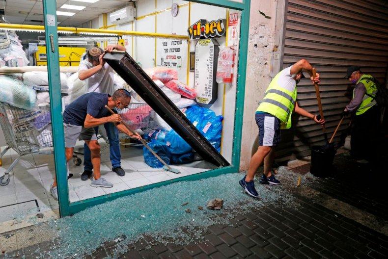 Israel rocket attack