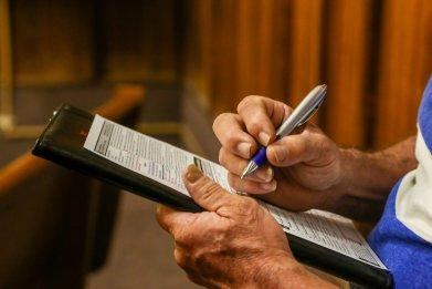 Ex-felon registering to vote in Florida