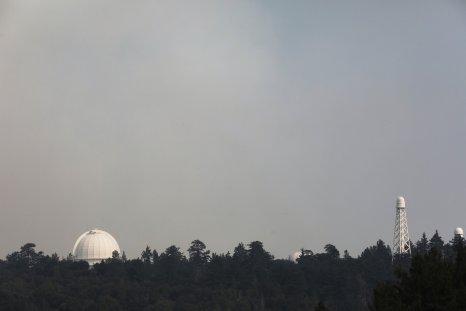 Mount Wilson Observatory California Bobcat Fire 2020