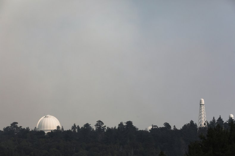 Mount Wilson Observatory California Bobcat Fire 2020