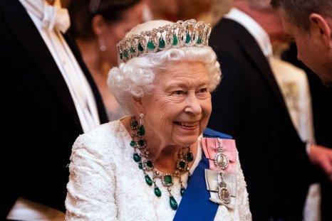 Queen Elizabeth II at Diplomatic Corps Reception