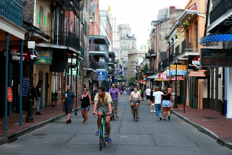 Bourbon Street, New Orleans, Louisiana 2020