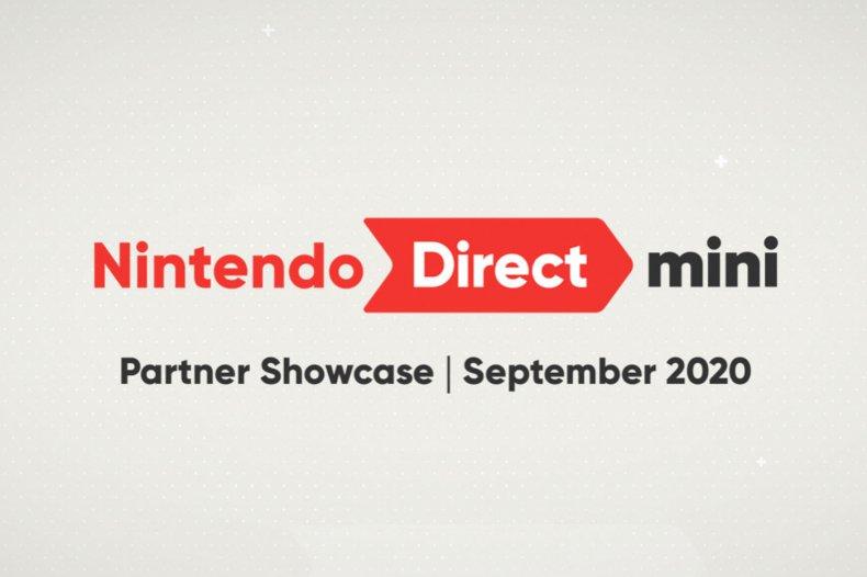 nintendo direct mini partner showcase september