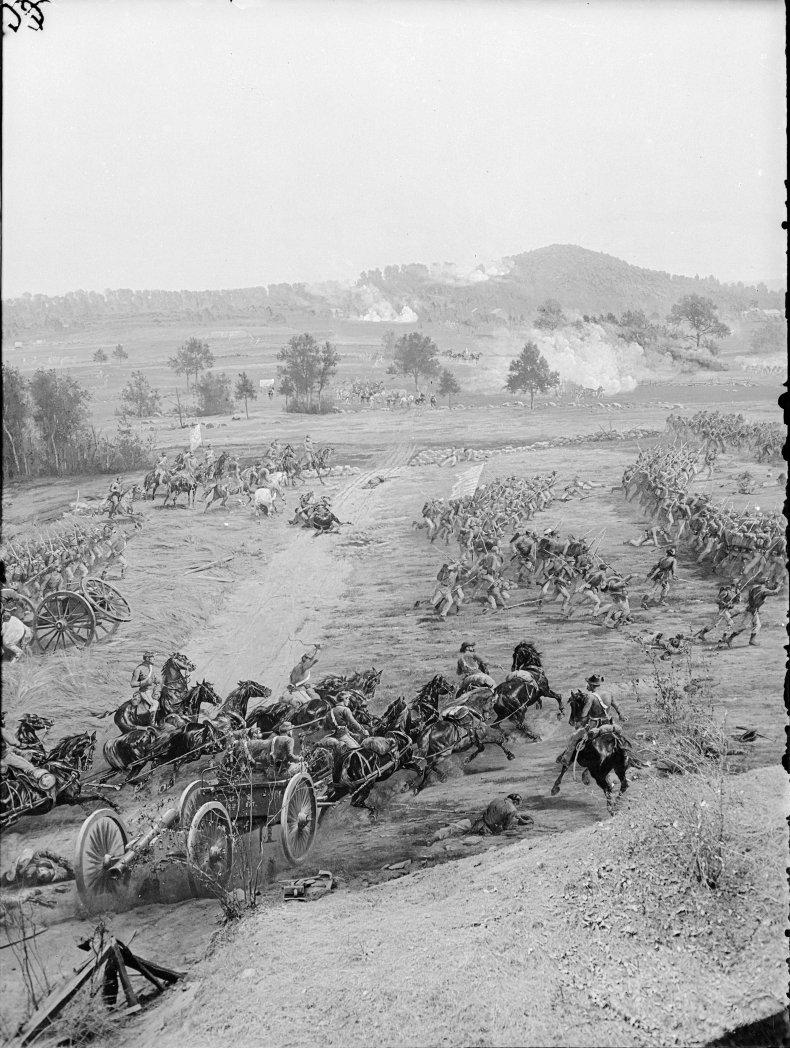 Getty images gettysburg