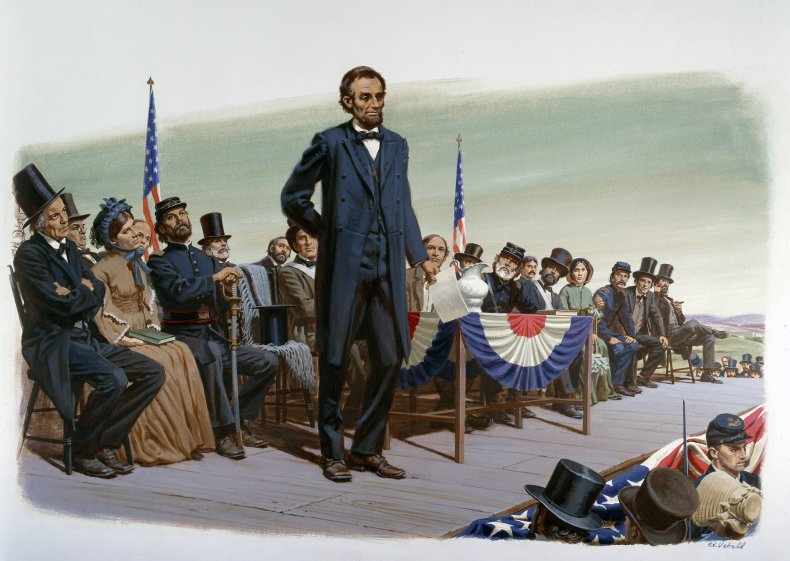 Getty Images President Abraham Lincoln