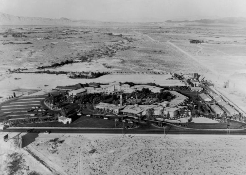 Flamingo Hotel Complex - Las Vegas 1950s