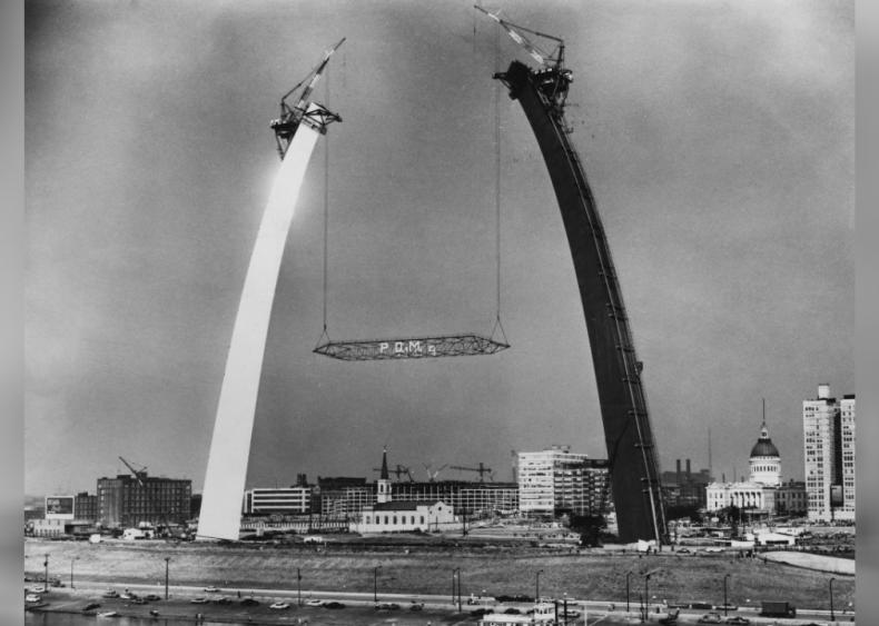 Gateway Arch - St. Louis 1964