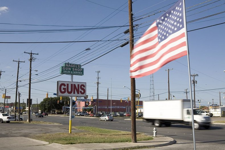 guns us flag