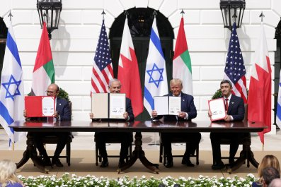 Signing of the Abraham Accords in