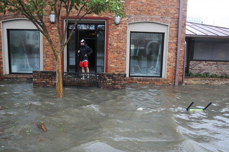 Hurricane Sally downgraded tropical depression Florida Alabama