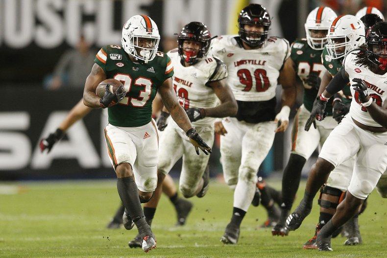 Miami Hurricanes, College Football