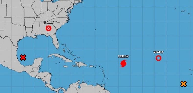 national hurricane center wilfred