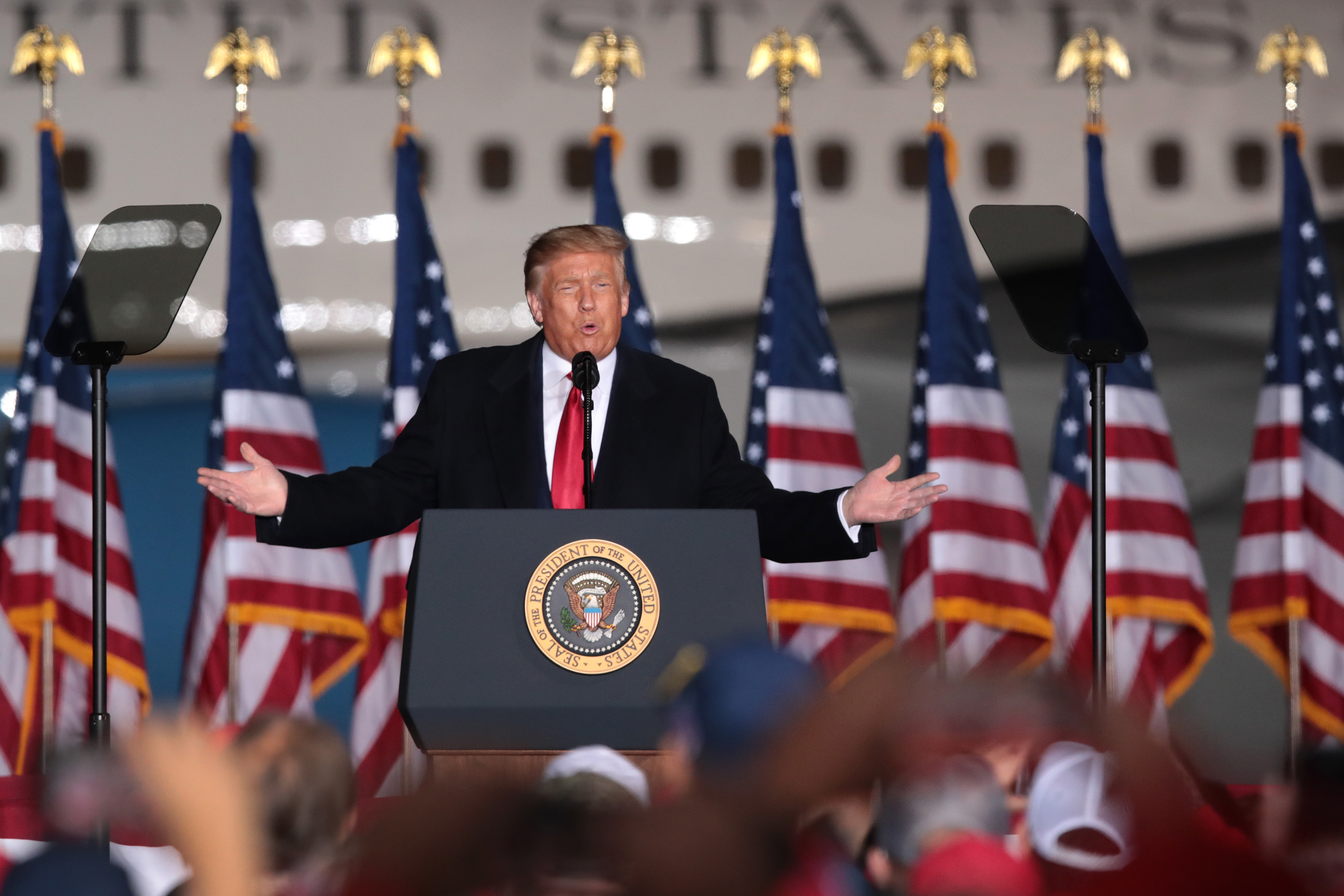 Trump Says Biden Will End Guns, Religion, Energy and Oil in America thumbnail