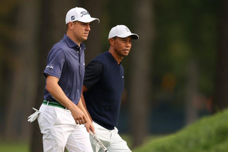 Justin Thomas, Tiger Woods, PGA Tour