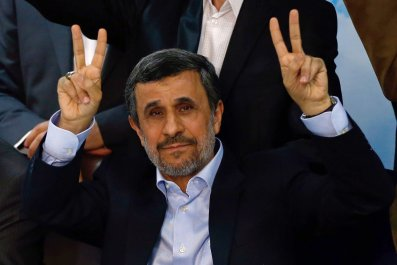 Ex-Iranian president Mahmoud Ahmadinejad