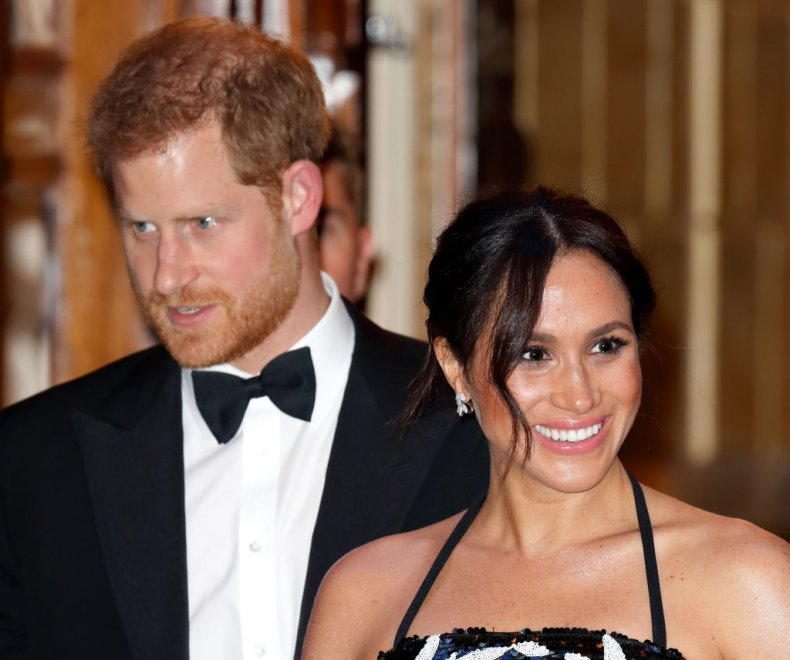 Prince Harry, Meghan Markle, Royal Variety Performance