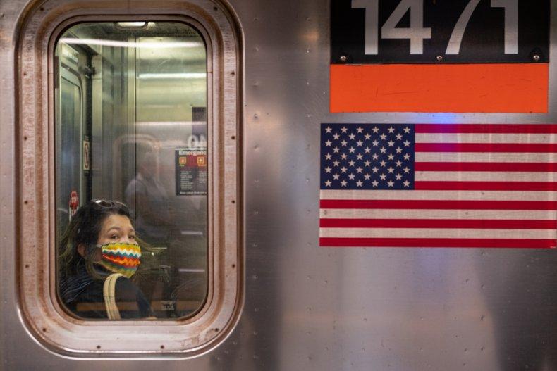 new york city, coroanvirus pandemic, getty, mask