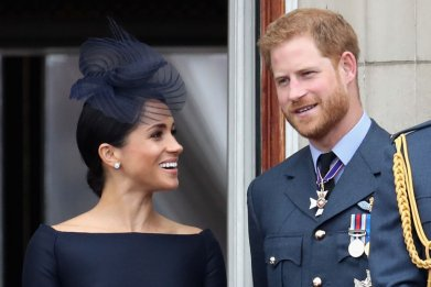 Meghan Markle, Prince Harry RAF Centenary