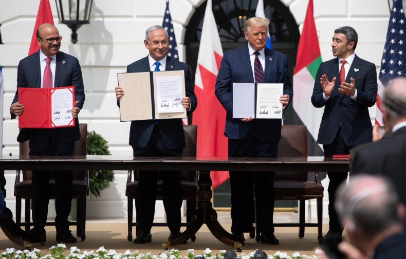 Abraham Accords signing