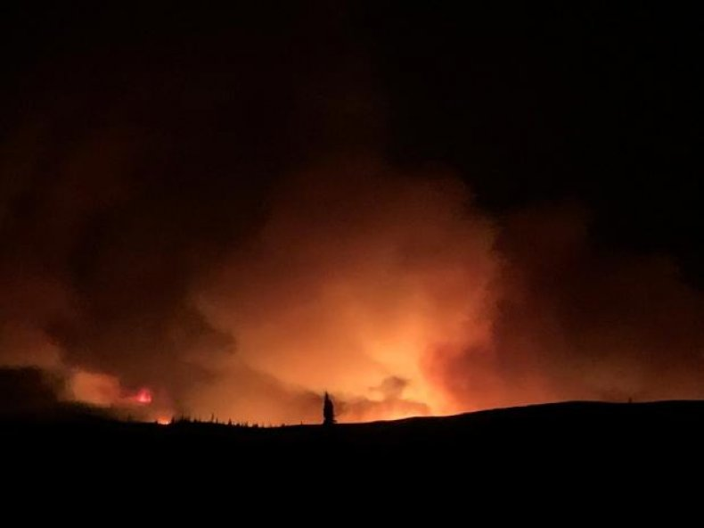 badger fire evacuation
