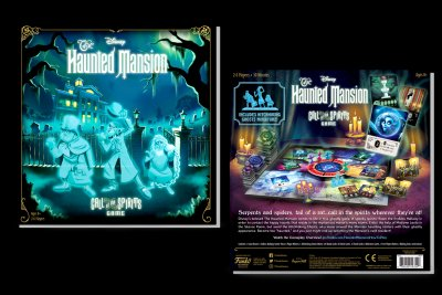 Funko Games Haunted Mansion 2020 Box Art