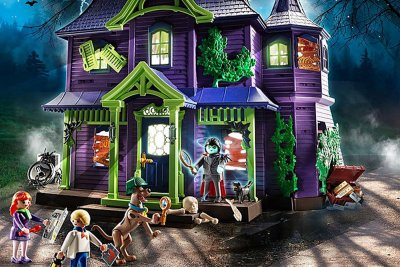 Playmobil Mystery Mansion Playset Scooby Doo