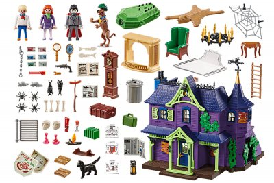 Playmobil Mystery Mansion Playset Scooby Doo Pieces