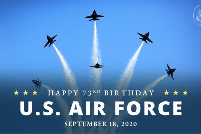 Air Force Birthday State Department