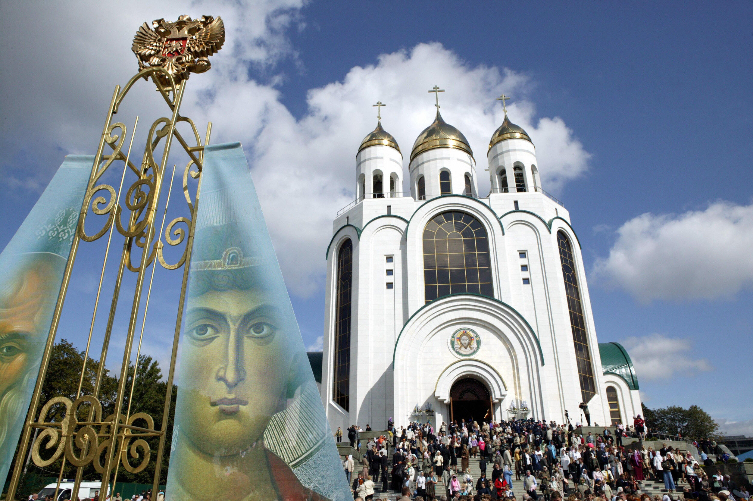 Russian troops who washed dirty shoes in holy water face 1 Year in Prison