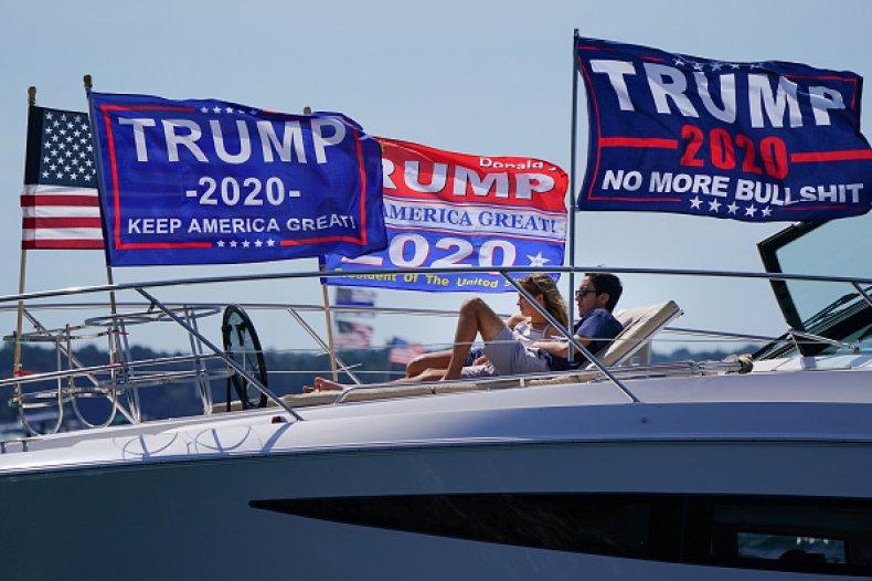 Trump Campaign Flag