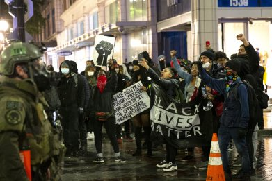 Seattle BLM protest